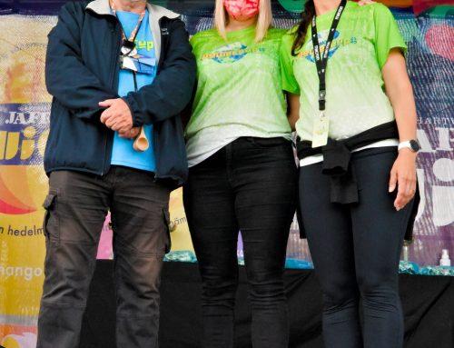 Salon Power Cup -järjestäjät luovuttivat avaimet Kauhavan Power Cupin järjestäjille